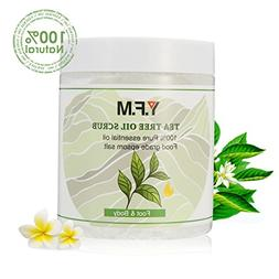 Tea Tree Oil Body & Foot Scrub - Y.F.M Deep Cleansing Exfoli