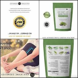 Tea Tree Oil Foot Soak Epsom Salt Soothes Tired Achy Feet So