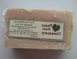 tea tree oil goat milk soap pure