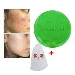 Tea Tree Oil Handmade Soap Facial Cleansing Acne Blackhead T