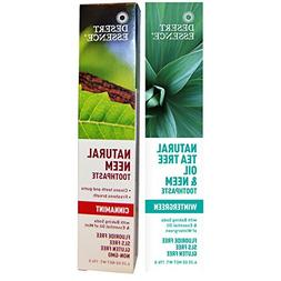 Desert Essence Natural Tea Tree Oil and Neem Toothpaste - 1