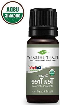 Plant Therapy Tea Tree Oil Organic  | 100% Pure,