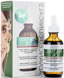Advanced Clinicals 1.8oz Tea Tree Oil for Redness and Bumps.