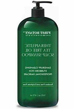 Tea Tree Oil Shampoo 16 fl oz Anti Dandruff Natural For Dry
