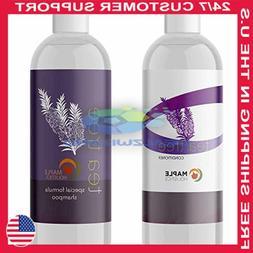 Tea Tree Oil Shampoo and Hair Conditioner Set - Natural Anti