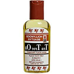 Hollywood Beauty Tea Tree Oil Skin & Scalp Treatment, 2 oz
