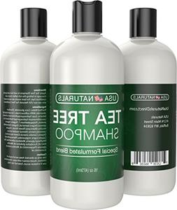Tea Tree Oil Shampoo Sulfate-Free: Revitalize Hair, Combat H