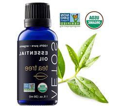 Tea Tree Oil, USDA Certified Organic Essential Oils, Non GMO