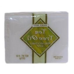 Tea Tree Oil Pure Vegetable Soap  - No Animal By-Products -