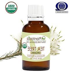 Tea Tree Organic Essential Oil 100 ML 3.4 FL OZ 100% Natural