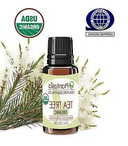 Tea Tree Organic Essential Oil 15 ML .5 FL OZ 100% Natural A