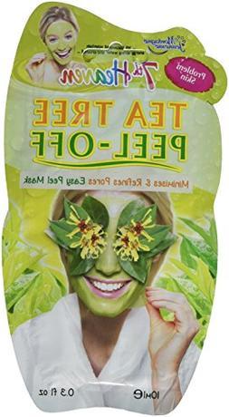 Montagne Juenesse Facepack Tea Tree Peel Off Mask, 1.8 Ounce