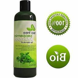 Tea Tree Peppermint Moisturizing Shampoo with Organic Mint a
