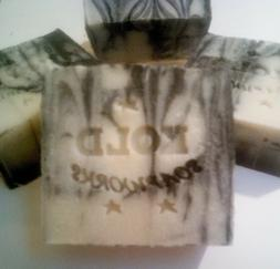 tea tree soap with activated charcoal large