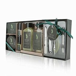 Tea Tree Essential Oil Spa Gift Set – 6pc Pamper Kit with