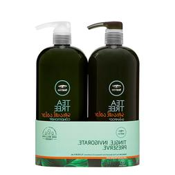 Paul Mitchell Tea Tree Special Color Shampoo Conditioner Lit