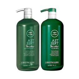 Tea Tree Special Shampoo and Conditioner liter duo by PM