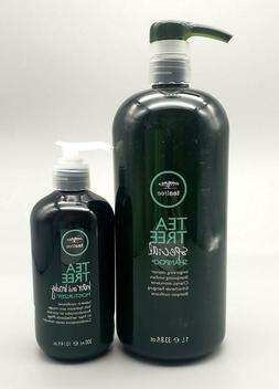 Paul Mitchell Tea Tree Special Shampoo 33.8oz & Hair and Bod