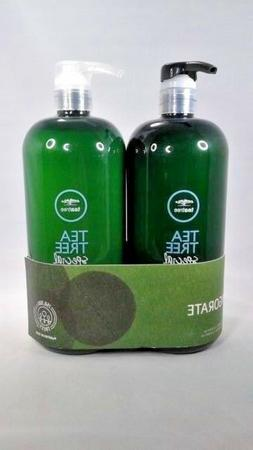 Paul Mitchell Tea Tree Special Shampoo and Conditioner 33.8