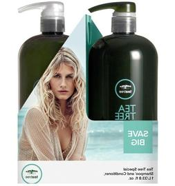 Paul Mitchell TEA TREE SPECIAL Shampoo & Conditioner Duo SET
