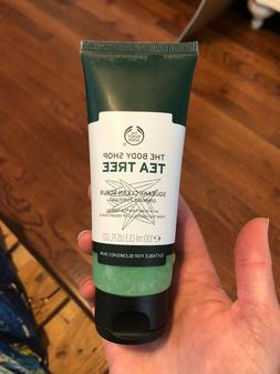 The Body Shop Tea Tree Squeaky Clean Scrub Brand New