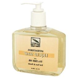 TEA TREE THERAPY TEA TREE SOAP,LIQUID, 8 FZ