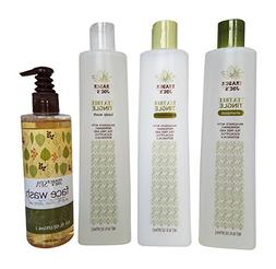 Trader Joe's Tea Tree Tingle Shower Bundle, Shampoo, Conditi