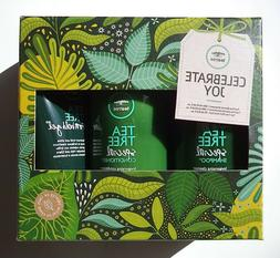 Tea Tree Travel Special Set - Shampoo, Conditioner, Firm Hol