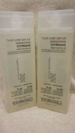 Giovanni Tea Tree Triple Treat Invigorating Shampoo 8.5 fl o