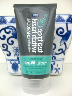 Tea Tree & Witch Hazel CHARCOAL Daily Detox Face Facial Wash