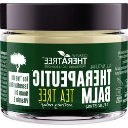 Therapeutic Balm with Tea Tree & Neem Oil, Antifungal