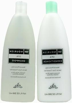 Trader Joe's Nourish Spa Shampoo and Conditioner