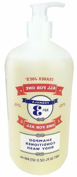 Trader Joe's Formula No.3 All for One, One for All Shampoo C