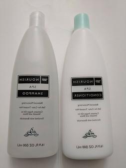 Trader Joe's Nourish Spa Shampoo and Conditioner 16.9 fl oz