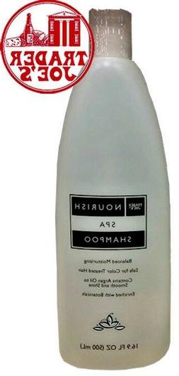 🔥 Trader Joe's Nourish Spa Shampoo Balanced Moisturizing