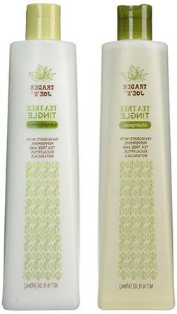 Trader Joe's Tea Tree Tingle Shampoo, Conditioner, and Body