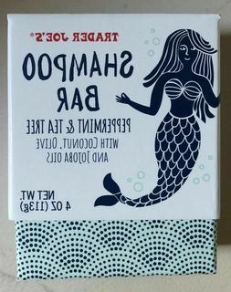 2-Packs Trader Joe's Shampoo Bar Peppermint & Tea Tree Oil