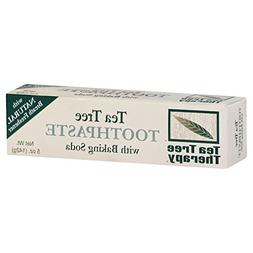 Tea Tree Therapy Tthpste Baking Soda Nat