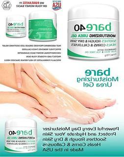 Bare Urea 40% Foot Cream-Skin Exfoliator, Repairs Thick Call
