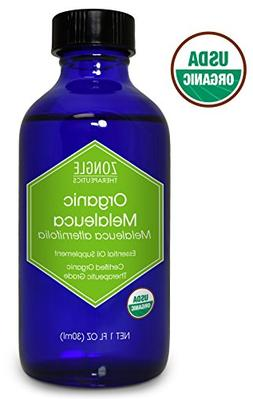 Zongle USDA Certified Organic Melaleuca  Essential Oil, Aust