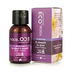 ECO. Body Vitamin E Body Oil Certified Organic, 55ml