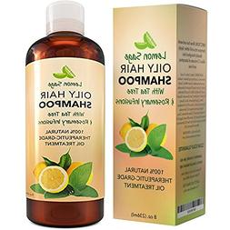 Volumizing Shampoo For Oily Hair - Vitamin Shampoo With Lemo