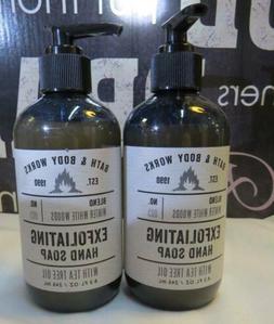 Bath & Body Works Winter White Woods Exfoliating Hand Soap w
