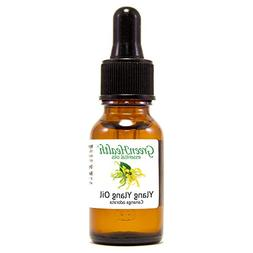 Ylang Ylang – 1/2 fl oz  Glass Bottle w/ Glass Dropper –